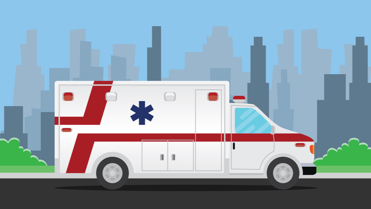illustration of ambulance