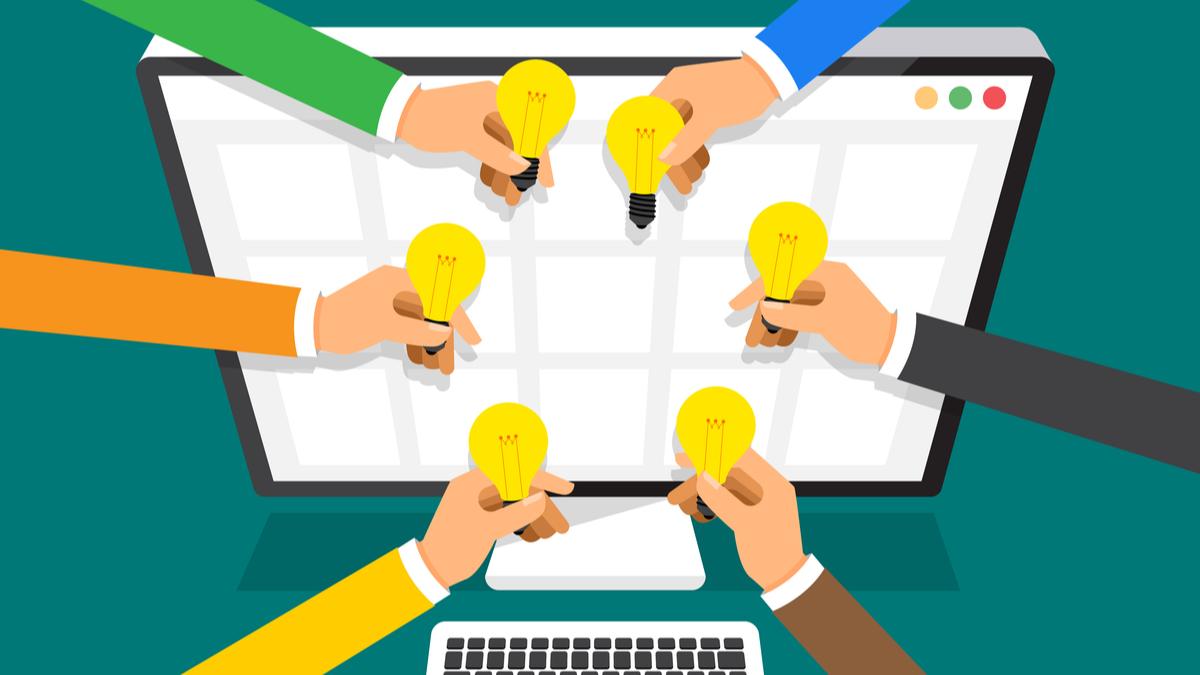 Crowdsourcing illustration