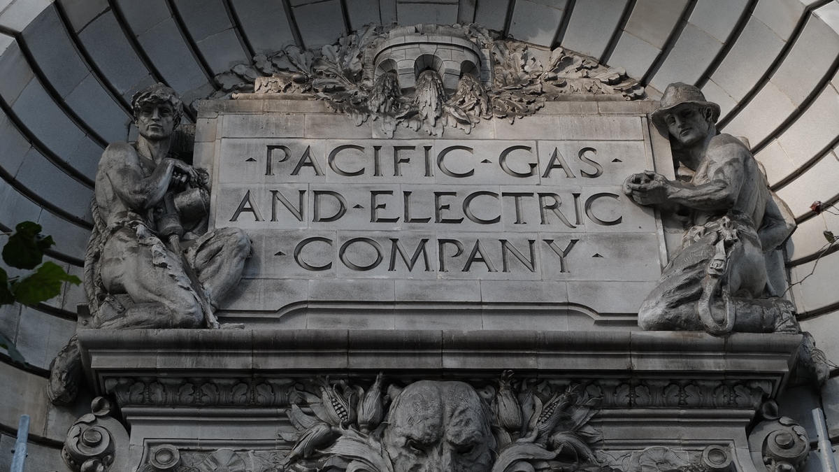 Photo of PG&E headquarters