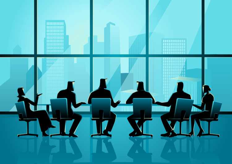 Board of directors illustration