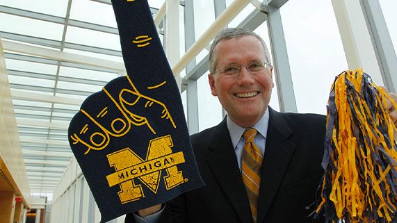 Alumni in Residence program at Michigan Ross