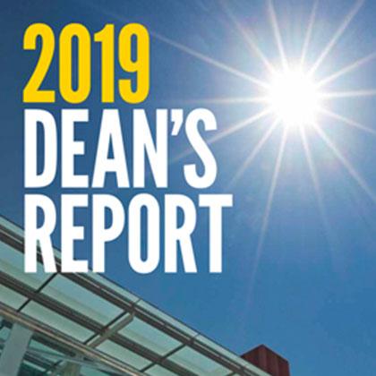 2019 Dean's report