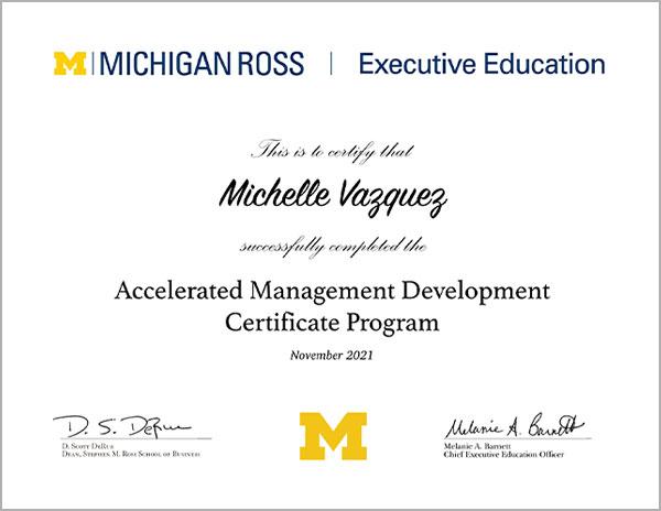 sample of EE certificate