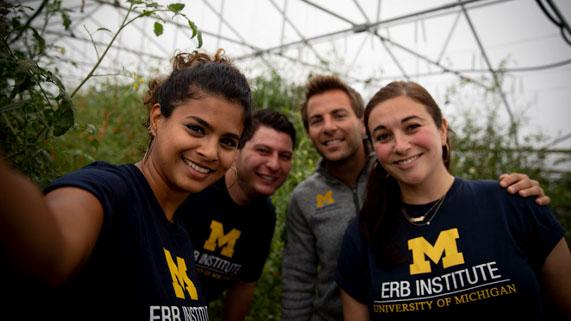 Erb Institute students