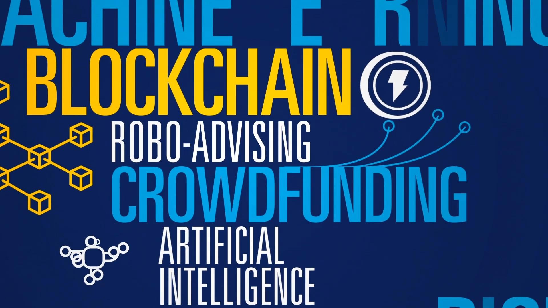 Fintech Blockchain image