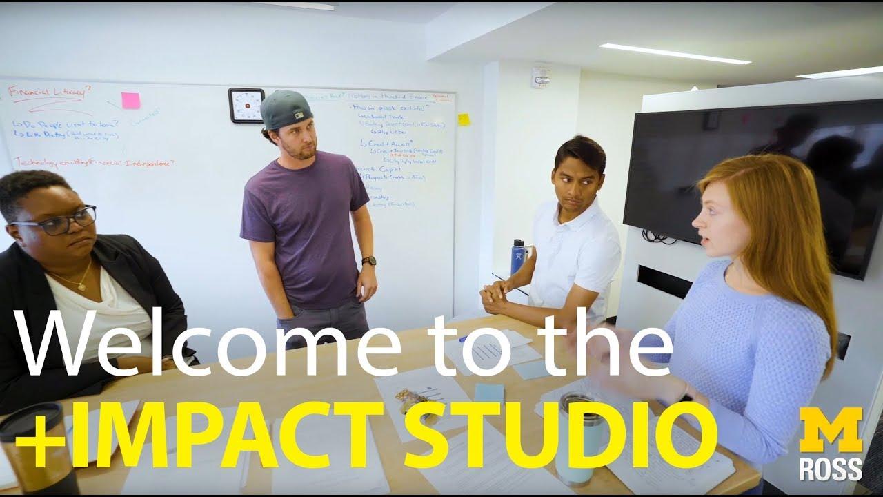 Impact Studio in action