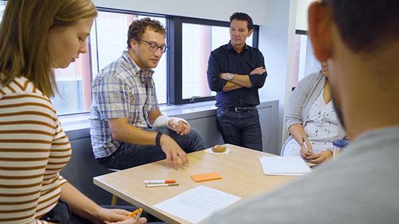 Students in Impact Studio