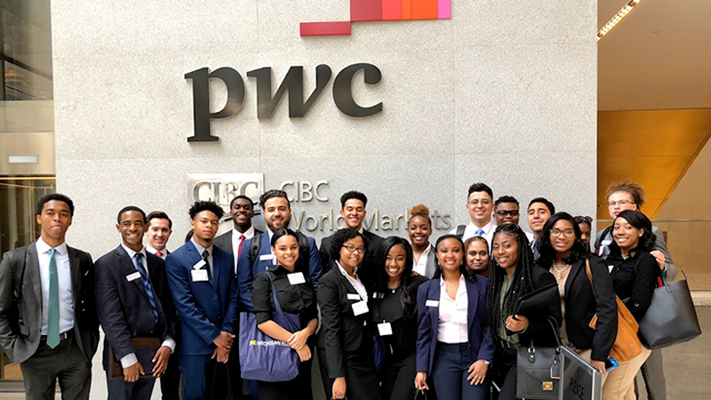 Students at PWC