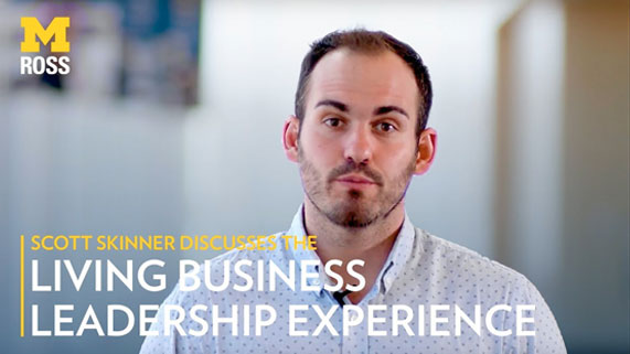 Scott Skinner discusses Living Business Leadership