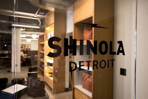 Shinola signage