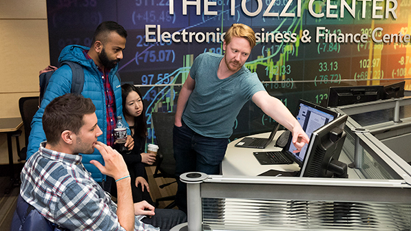 Tozzi Center Students