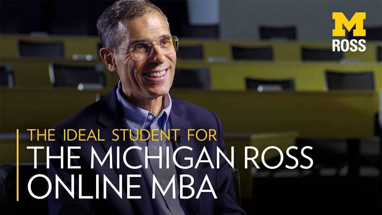The ideal student for the Online MBA