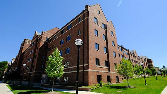 West Quad Student Housing
