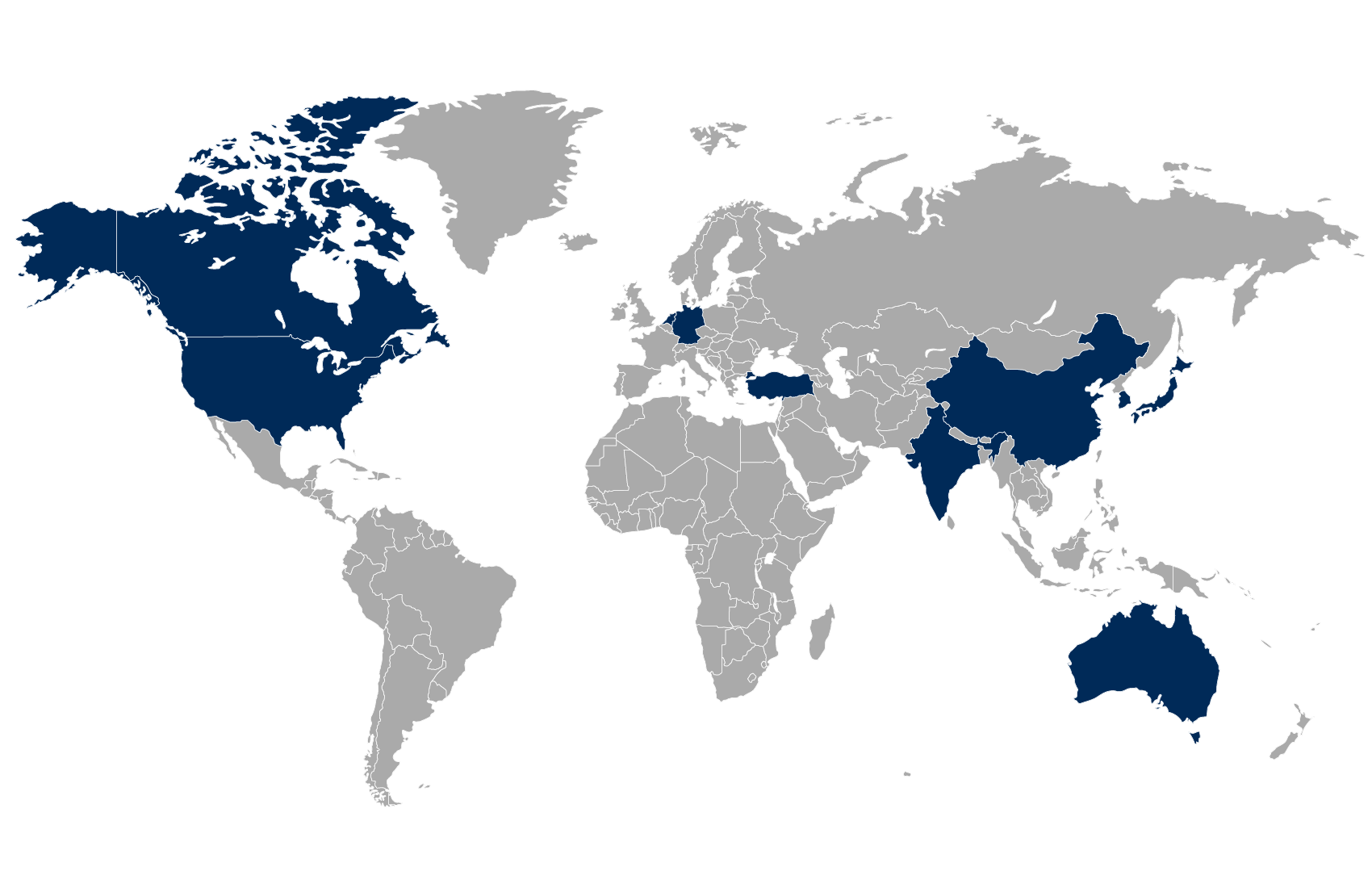 World MAP of EMBA students