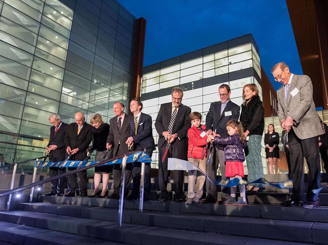 the university of michigan s ross school of business celebrates