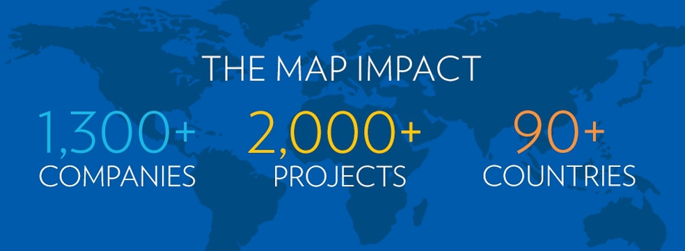 The MAP program's extensive reach