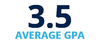 3.5 Average GPA