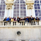The Europe course team at Schonbrunn Palace in Vienna, Austria.