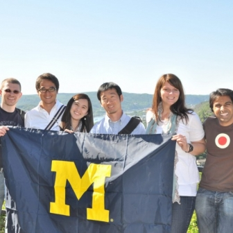 Representing Michigan during the WHU MBA European Summer Institute in Koblenz, Germany.