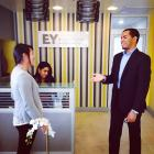 Kraft MAP team discuss consumer research strategies at EY, Santo Domingo.