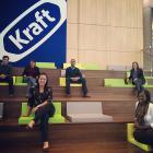 MAP team inside Kraft HQ.