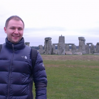 While on exchange in London, a Ross MBA visits Stonehenge.