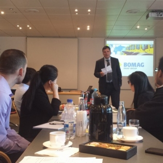 Learning about European business during the European Summer Institute at WHU Otto Beisheim School of Management.
