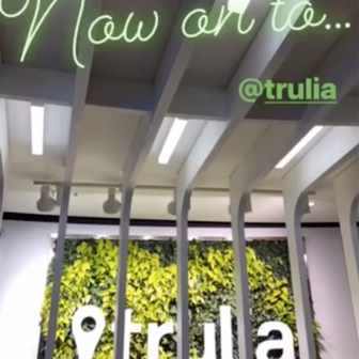 Sign at Trulia
