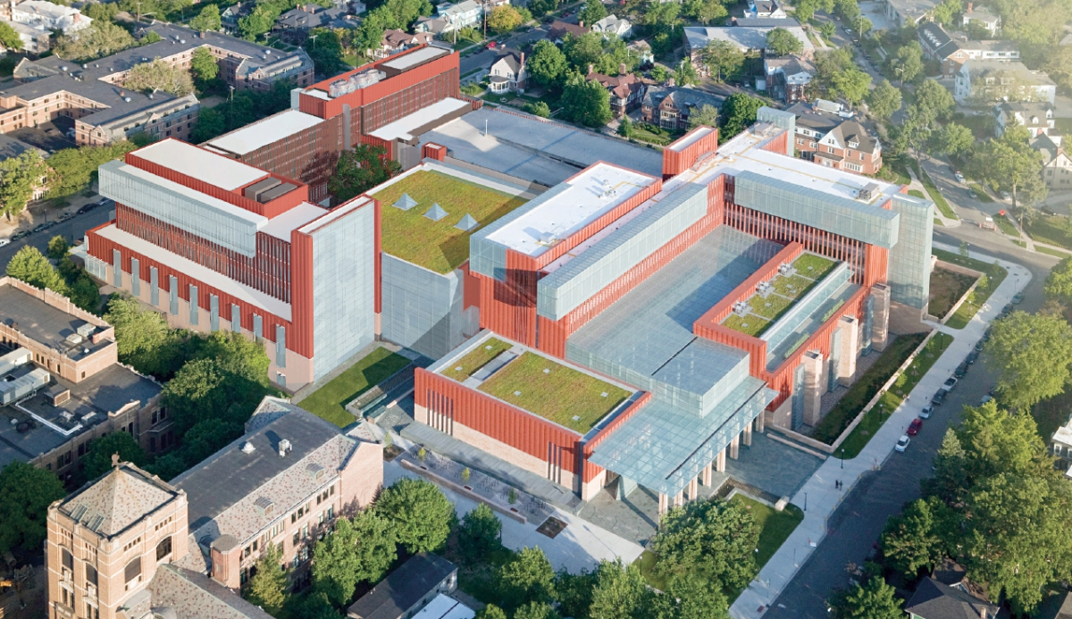 Construction Project Will Transform The Ross Complex Into A Unified Business Campus