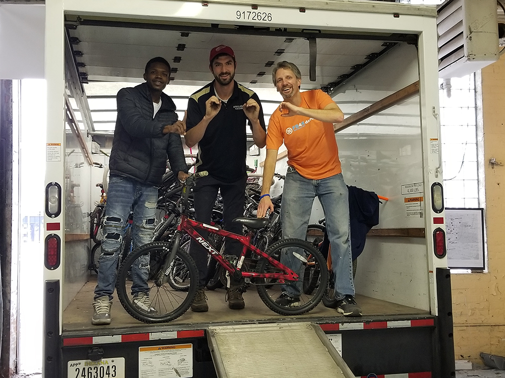 Michigan Ross Alum Collects More Than 1,000 Bikes To Give To Detroit Youth This Holiday Season