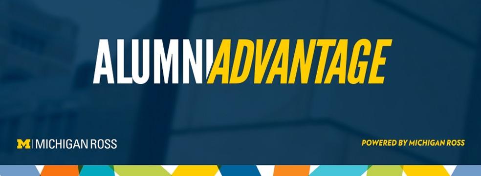 Alumni Advantage at Michigan Ross