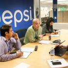 The PepsiCo MAP team gets down to work in New York.