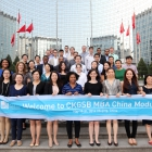 Ross MBA students explore Chinese business practices in the short-term course at Cheung Kong Graduate School of Business in Beijing.