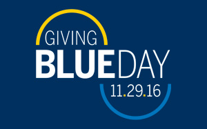 Giving Blue Day